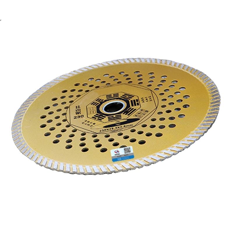 RIJILEI 9 pollici 230mm * 25,4 * 2,8 diamante ultrasottile disco - Lama per sega - Fotografia 3