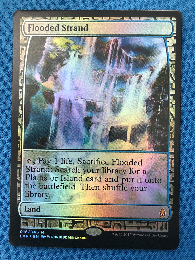 Flooded Strand Zendikar Expeditions Foil Magician ProxyKing 8.0 VIP The Proxy Cards To Gathering Every Single Mg Card.