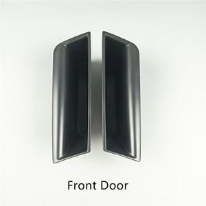 Автомобильная дверь подлокотник коробка для хранения крышка украшения для Mercedes Benz C Class W204 2007-14 авто Интерьер модифицированные аксессуары