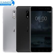 2017 Original Nokia 6  LTE Smart Phone 4G RAM 32G ROM Octa Core Dual Card Fingerprint 3000mAh WIFI GPS Android Doze