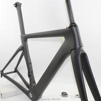 Cheapest 2018 Newest 700C Racing Road Bike UD Full Carbon Fibre Bicycle Frames Carbon Fork Seatpost