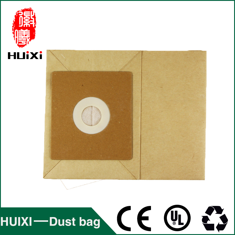 20 pcs 50mm Vacuum Cleaner Paper Dust Bags And Filter Bags With High Efficiency For FC8334 FC8336 QW12T5 QW12Z4 etc 1 pcs universal vacuum cleaner non woven bags and washable dust bags with high efficiency for ro1121 ro1124 etc