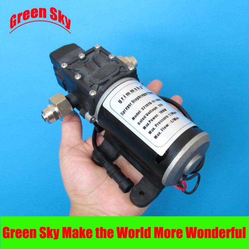 24V DC 100W fog/spray/misting,spraying pesticide,farm,greenhouse,garden irrigation use high pressure micro diaphragm water pump