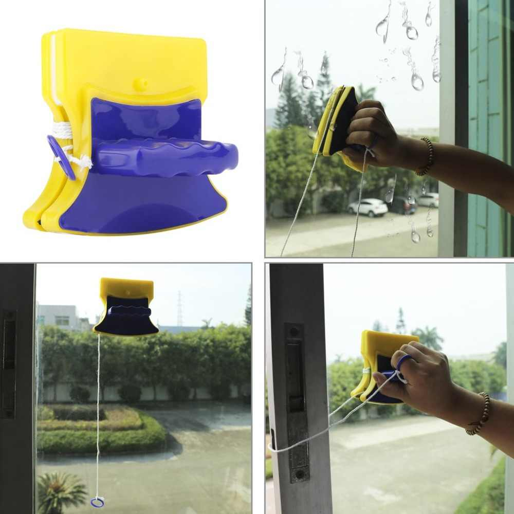 Magneet Glas Cleaner Double Side Magnetische Window Cleaner Glass Wiper Nuttig Oppervlak Borstel High-efficiency Cleaning Tools