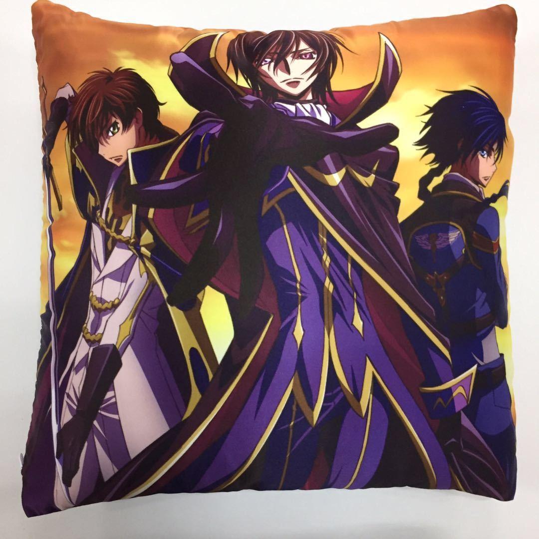 New CODE GEASS Hangyaku no Lelouch two side Pillowcases Hugging Pillow Cushion Case Cover Otaku Gift Cosplay 191