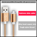 H&LOO 1M mobile phone data cable Micro USB charging cable data lines For iPhone Samsung Huawei Meizu LG Xiaomi Redmi