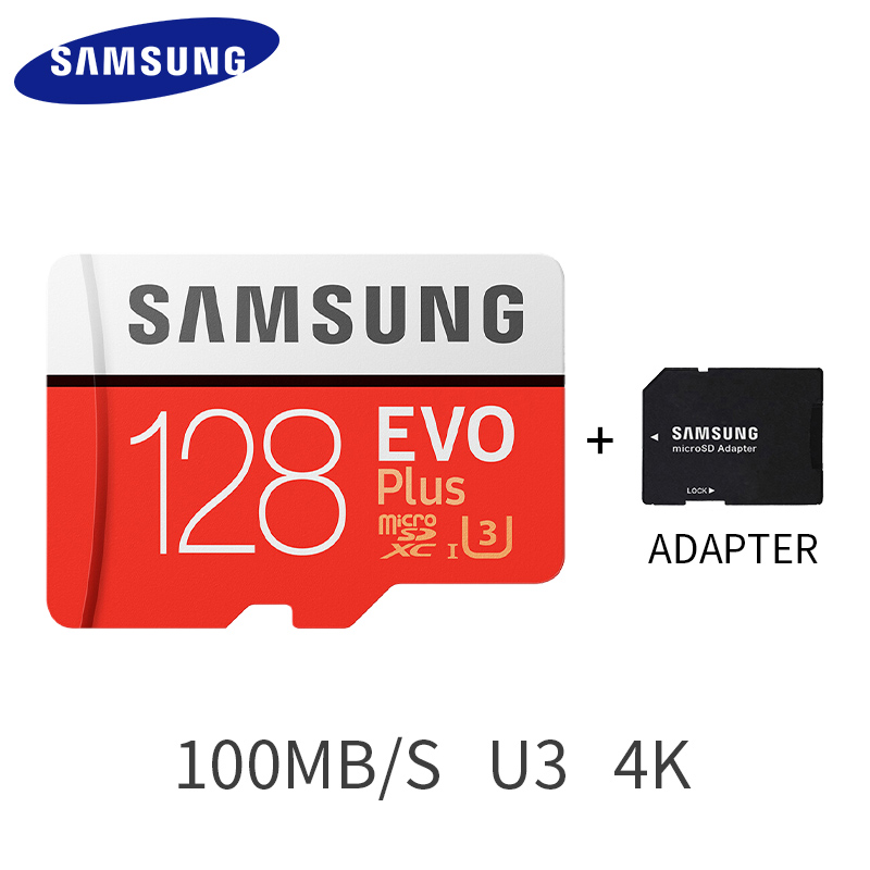 Samsung EVO PLUS 32 gb SDHC Carte Memoire 64 gb C10 SDXC U3 Cartao SD Smartphone Speicher Karte 128 gb 256 gb Flash Karte für go pro