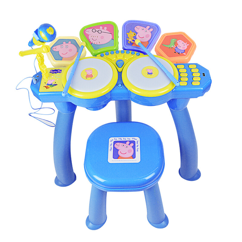 Peppa pig Learning Education Toy Musical Instrument Drum drum children's toys male girl simulation drum baby Toy for children - 5