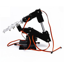 Small Hammer DIY 6DOF Metal RC Robot Arm Kit & MG996 Servos(China)