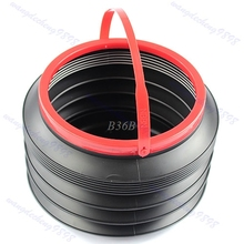 Bucket Folding Collapsible Fishing Water Pail Storage Box Trash Container In Car MAY8