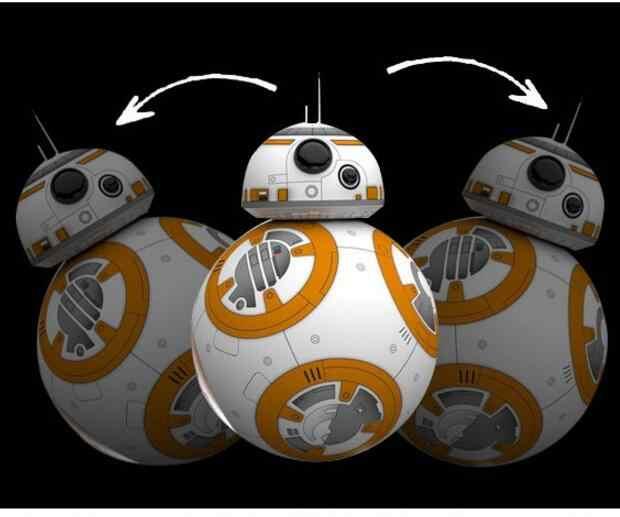 8,5 см Звездные Войны Пробуждение силы BB8 игрушка BB-8 дроид робот Дарума тумблер фигурка игрушки сумка Подвеска Рождественский подарок для детей