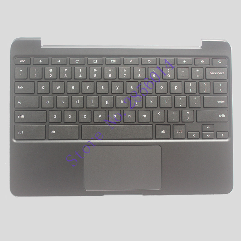 купить NEW US Laptop Keyboard For SAMSUNG Chromebook XE500C13 English Laptop Keyboard with Palmrest cover по цене 2900.09 рублей