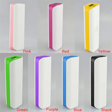 Portable Led Pover Power Bank (No Battery Mobile Power Bank 1x 18650 Box Phone Charger diy Case Powerbank Dual USB Poverbank(China)