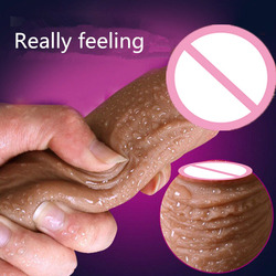Soft 6 Type Big Silicone Dildo Realistic Suction Cup Dildo Penis Male Artificial Penis Dick Women Masturbator Sex Toys For Women