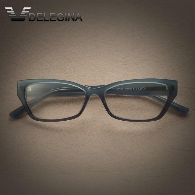 2017 New Fashion Blue Plain clear Lenses Eyeglasses Decorative Transparent frames Spectacle Frame For Optical Glasses