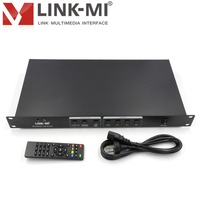 LINK-MI LM-SP49 HD الفاصل مع المتسلق المدخلات HDMI + AV + VGA + USB 9 HDMI الناتج دعم 180 درجة الوجه
