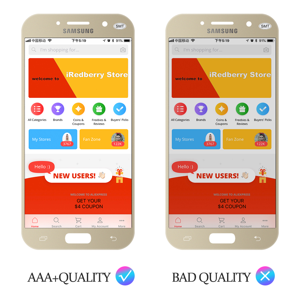 100 Test 5 2 For SAMSUNG GALAXY A5 2017 A520 SM A520F LCD Display Touch Screen 100% Test 5.2'' For SAMSUNG GALAXY A5 2017 A520 SM-A520F LCD Display Touch Screen Digitizer LCD A5 2017 Assembly LCD