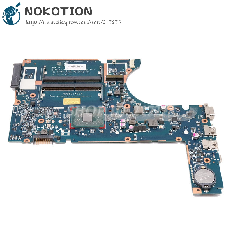 NOKOTION 907358-601 907358-001907358-001 for <font><b>HP</b></font> 445 g4 <font><b>455</b></font> g4 laptop <font><b>motherboard</b></font> DAX93AMB6G0 with A9-9410 cpu image