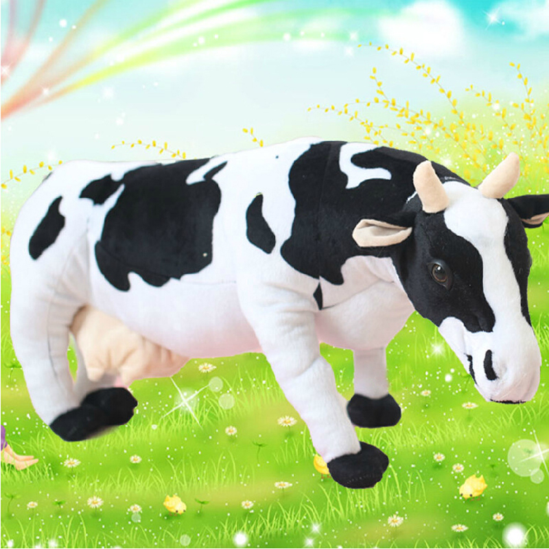 Cute  Cow  large simulation cow plush doll  toys creative birthday gift to send girls 520 gift to send his girlfriend boyfriend wife girlfriends birthday girls creative and practical small gifts valentine children