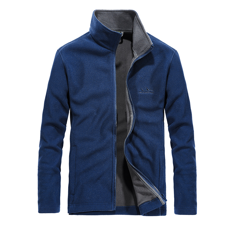 Fall Fashion Polar Fleece Jacket Men Clothes 2019 Spring Outwear Windproof Keep Warm Mens Jackets And Coats Plus Size M 4XL