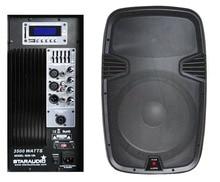 STARAUDIO 15″ 3500W Powered/Lively KTV /Stage/Church MP3 PA DJ USB SD FM EQ Bluetooth Speaker SDE-15A