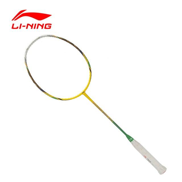 Li-Ning Professional Badminton Rackets Carbon Offensive Type BRAZIL 2016 Single Racket  AYPL102 ZYF113