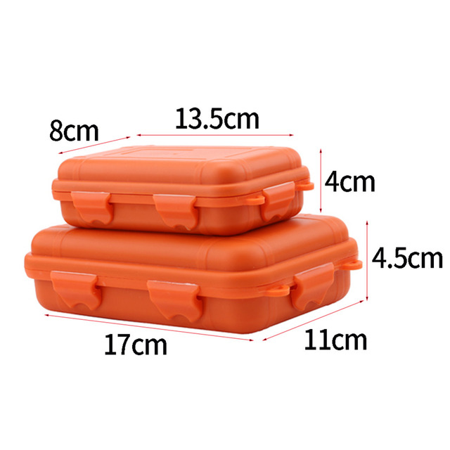 Outdoor Storage Box Case Travel Kit Shockproof Waterproof Emergency