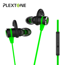 Cheapest PLEXTONE G20 In-ear Earphone for Phone Computer stereo gaming headphones with Microphone for Xiaomi xiomi Earpods fone de ouvido