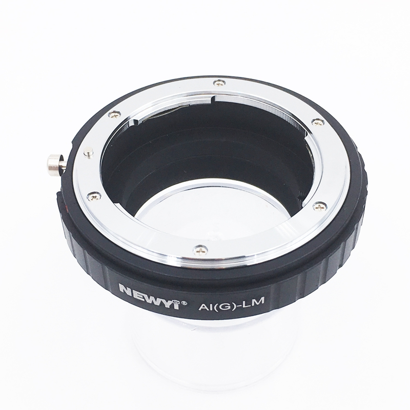 Image 2 - NEWYI Adapter For N ikon Ai F G Af S Mout Lens To FM Lm L/M Camera New Camera Lens Ring Accessories-in Lens Adapter from Consumer Electronics