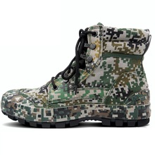 Men Outdoor Camouflage Boots Army Shoes Combat Desert Tactical Boots Camouflage Shoes Hiking Camping Shoes  Climbing Shoes цены