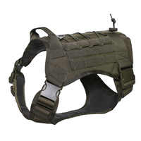 Tactical Dog Harness Service Vest Outdoor Military Patrol K9 Working Dog Vest Hunting Dog Training Clothes