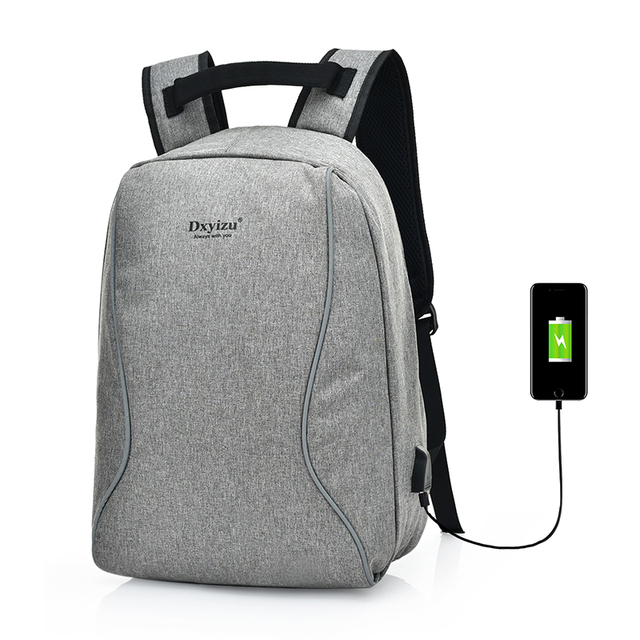 b1951819ed5 Multifunction Anti Theft Laptop Backpack with USB Charging Port Unisex  Leisure Travel Backpack School Bags for