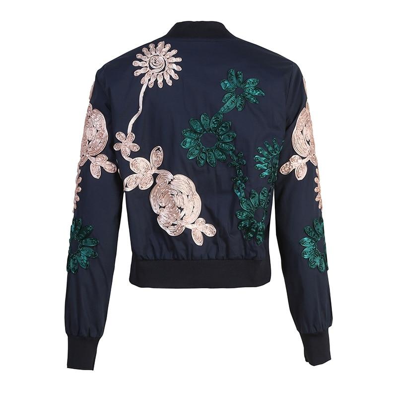 Femelle Noir Manches Longues Mode Hiver Qyfcioufu Nouvelle Femmes Imprimé Automne Veste Cristal De Survêtement Zipper Manteau Plaid À 2018 Applique xSvfA