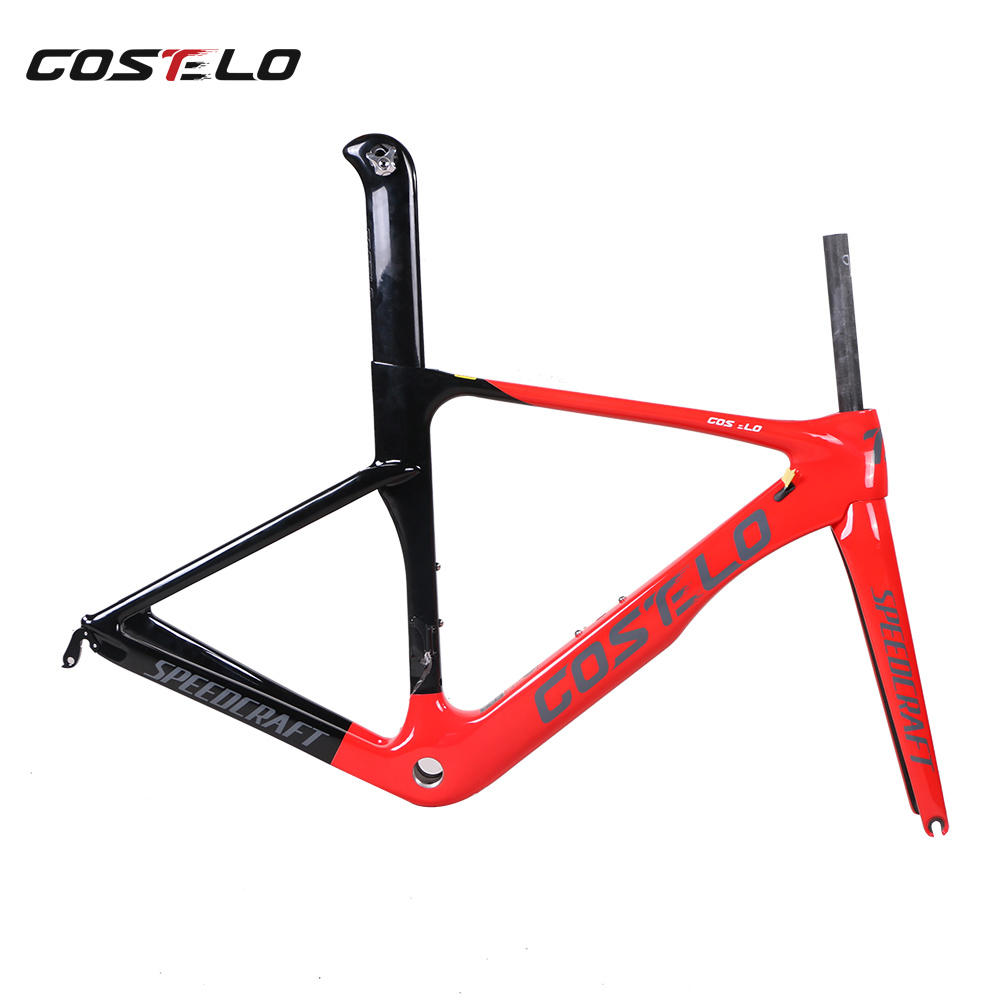 Costelo Speedcraft Road Bicycle Carbon Frame T1000 UD Bicicleta Carbono Bici Telai In Carbonio Race Bicycle