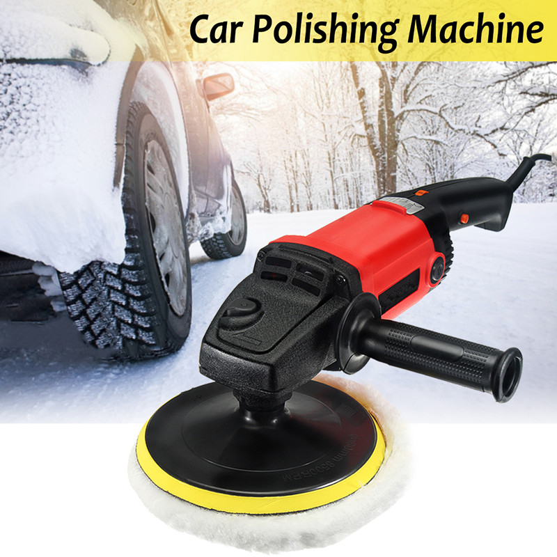 7 Electric Variable Speed Car Polisher Buffer Waxer Sander Detail Boat цена
