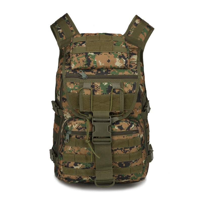 ФОТО New Nylon Military Camouflage Backpack 40l Multi-function Travel Bag High Quality Men Backpacks Mchila Mens Designer Backpack