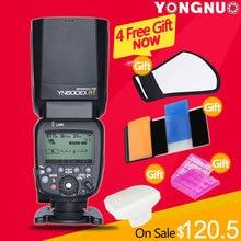 YONGNUO YN600EX-RT 2.4G Wireless HSS 1/8000 s Maestro Speedlite de Destello para la Cámara de Canon como 600EX-RT YN600EX RT