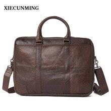 2018 Best selling mens briefcase handbag Messenger bag travel laptop business leather