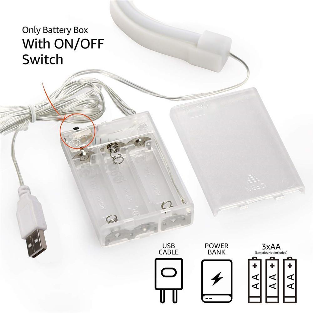 Sinal de néon Luz LED USB Forma