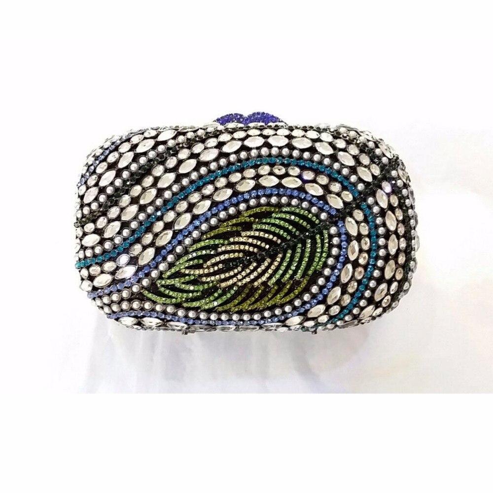ФОТО 8319A Crystal Pearl Leave Lady Fashion Wedding Bridal Party Night hollow Metal Evening purse clutch bag box handbag case
