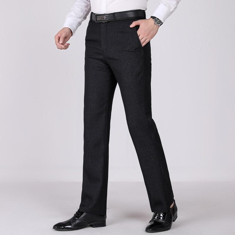 Us 258 52 Off2019 Spring Winter Office Trousers For Men Business Clasic Men Formal Suit Loose Office Men Dress Pants Pantalon Vestir Hombre In