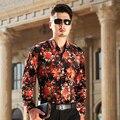 2016 Autumn Men's Long Sleeve Shirts Male Business Casual Velvet Brand Formal Men Dress Shirt For Man Slim Masculina Camisa
