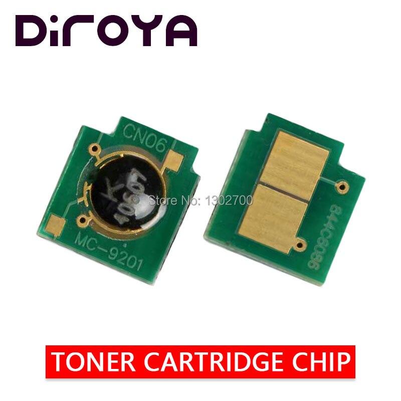 4PCS 2.5K/2K Q6000A Q6001A Q6002A Q6003A Toner Cartridge Chip For HP Color LaserJet 1600 2600n 2605 2605dn 2605dtn CM1015 CM1017