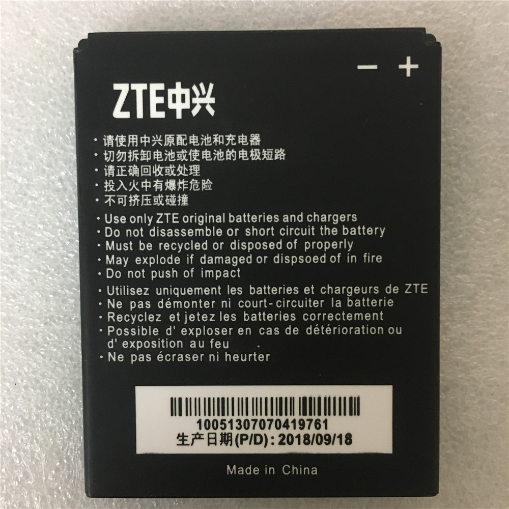 1650mAh Li3716T42P3h594650 Full Capacity Original 2017 <font><b>battery</b></font> for <font><b>ZTE</b></font> V889S V889M U970 U807 V807 N807 V930 U930 N970 <font><b>V970</b></font> U795 image