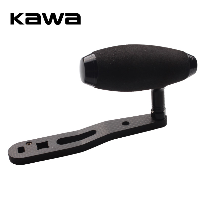 Kawa New Design Fishing Reel Handle, Fishing Rocker, For Trolling Wheel, High Carbon, Double Holes Fishing Reel Accessory 2017 new fishing reel double handles with eva knobs suit for 4000 5000 spinning high quality carbon fishing tackle accessory