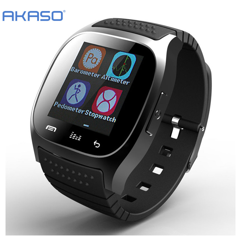 Dropshipping  Sport Smartwatch M26 Bluetooth Smart Watch With LED Alit