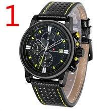 Novo relógio de quartzo homens, esportes ao ar livre dos homens de alta qualidade cinta relógio de pulso, relógio de negócios de moda