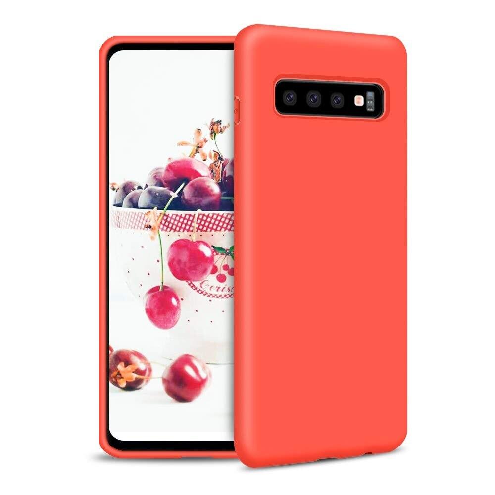 Подставка резиновый корпус жвачка торт для Huawei Red 2019 красный