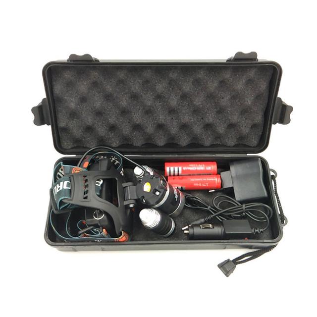 Chips de farol 9000 Lúmen 3T6 3x XM-L T6 LED Cabeça lâmpada Lanterna Lanterna 4 modelo de switch faróis led escolher bateria carregador