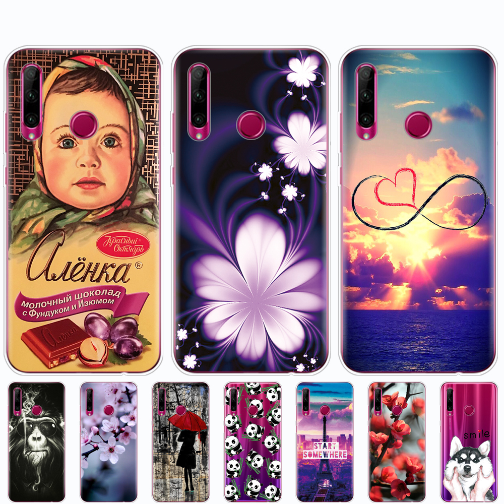 Silicon <font><b>Case</b></font> For <font><b>Honor</b></font> <font><b>10i</b></font> <font><b>Case</b></font> <font><b>Honor</b></font> <font><b>10i</b></font> HRY-LX1T Soft TPU Cover Phone For Huawei <font><b>Honor</b></font> <font><b>10i</b></font> Honor10i 6.21 inch coque bumper image